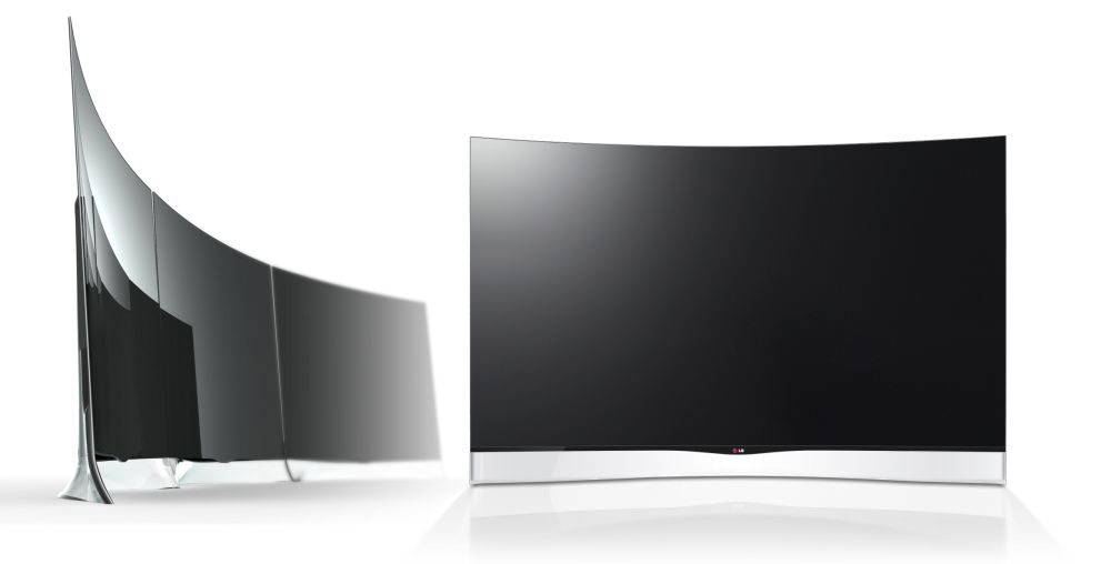 LG Curved OLED TV 01