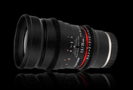 35mm T1.5 ED AS UMC VDSLR Sony-E