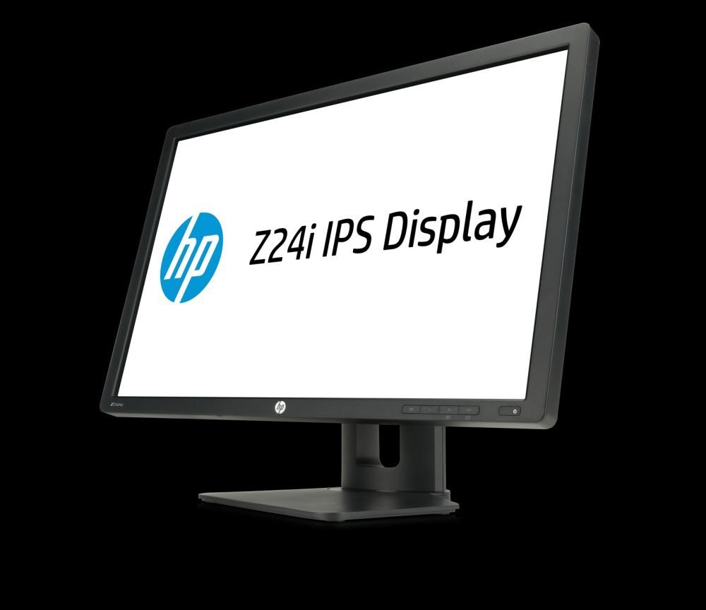 HP Z24i 24-inch IPS Display, Left Facing_Hero