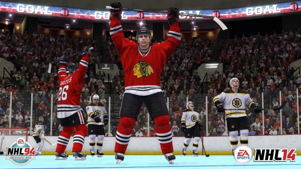 NHL14-NHL94-Anniversary-Mode-Goal-Celebration