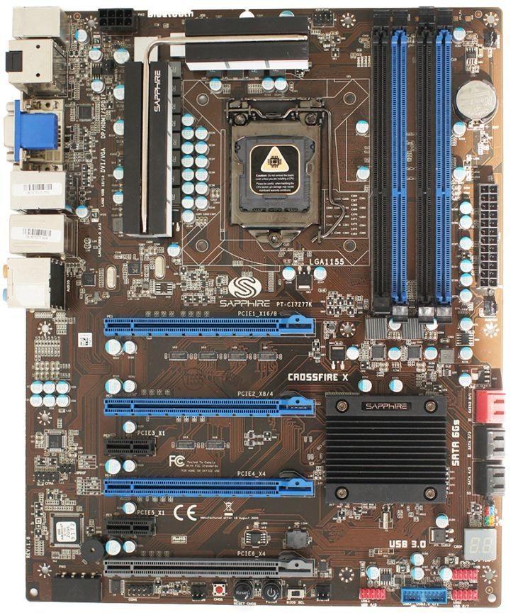 Sapphire PURE Platinum Z77K (PT-CI7Z77K)