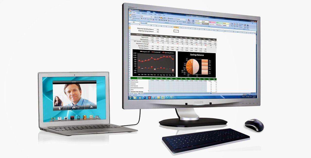 231P4U_USB docking - USB Docking display