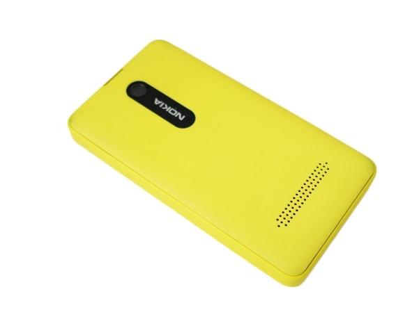 Nokia Asha 210 Dual Sim сзади