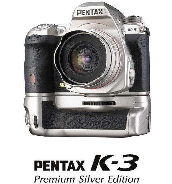 PENTAX K-3 Premium Silver Edition
