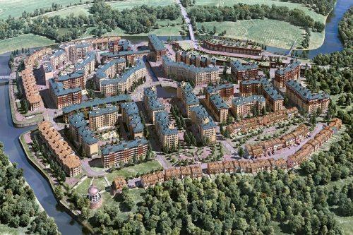 Карта московской жилой недвижимости от Яндекса