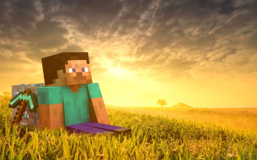 Steve-Minecraft-Wallpapers-HD-Wallpaper