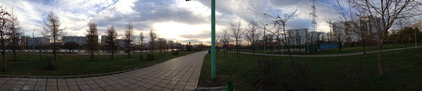 панорама iPhone 5c