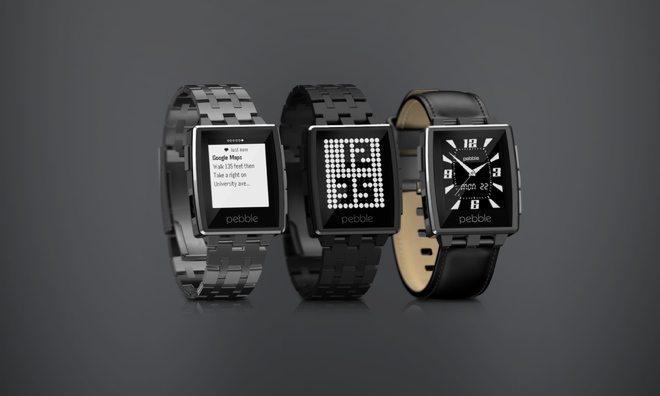Pebble Steel Smart Watch