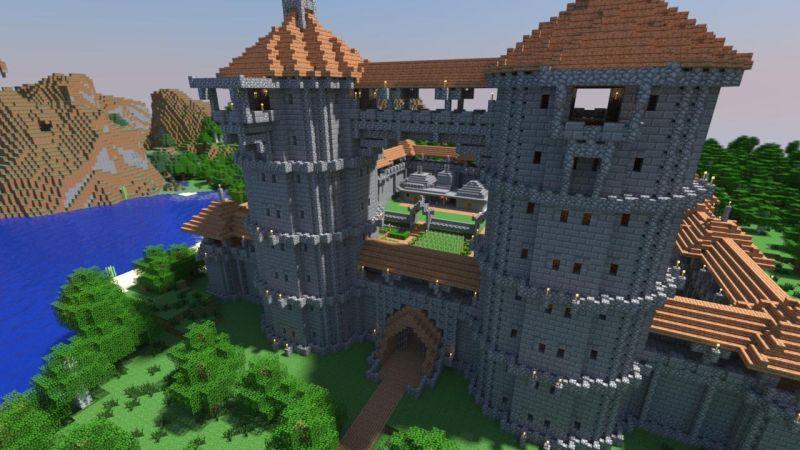 minecraft-castle