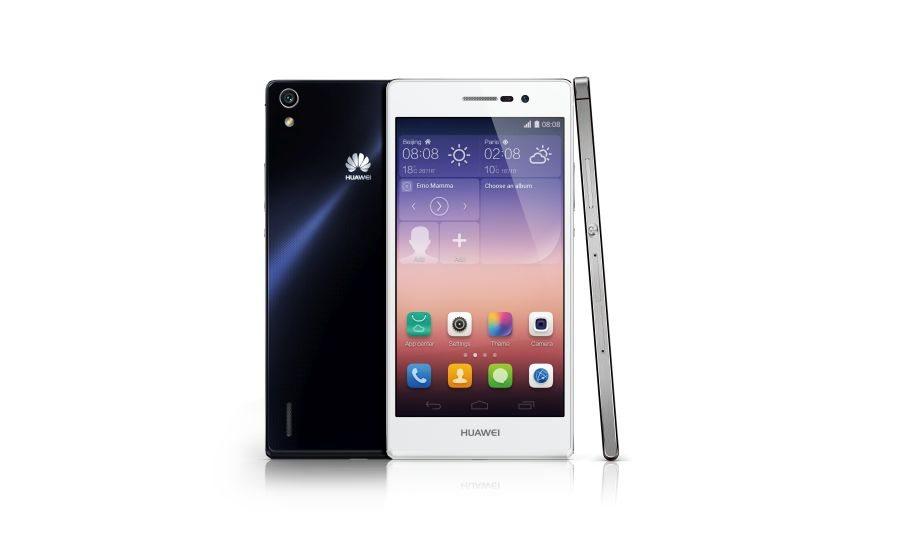 Huawei_Ascend P7_White&Black