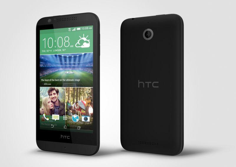 HTC Desire 510_PerLeft_Black