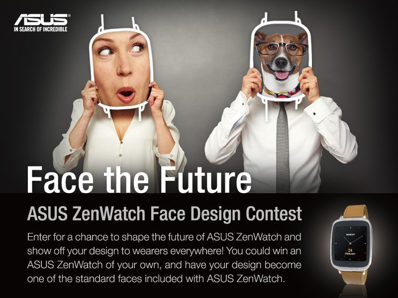 ASUS ZenWatch-Face the Future post