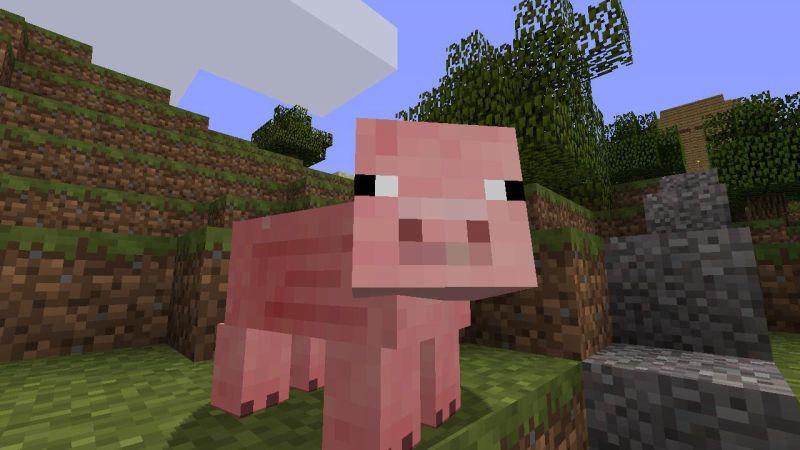 Minecraft-pig