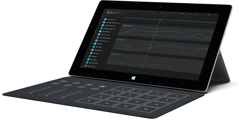 microsoft-surface-2-pro-remix-music-project
