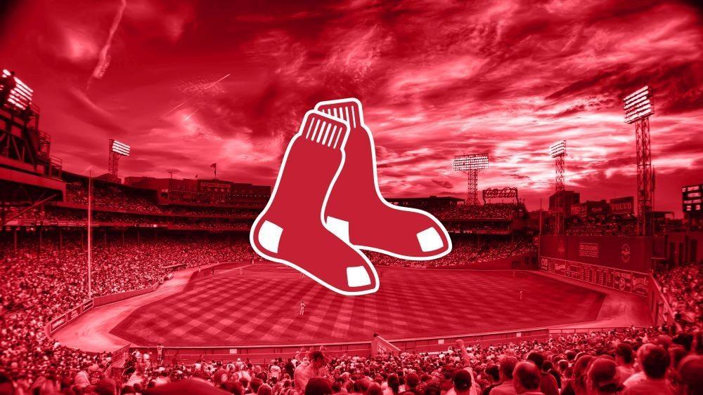 Boston-Red-Sox-2015-Logo-MLB-4K-Wallpaper