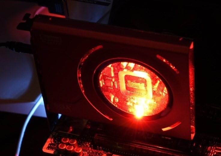 Creative Sound Blaster Z подсветка