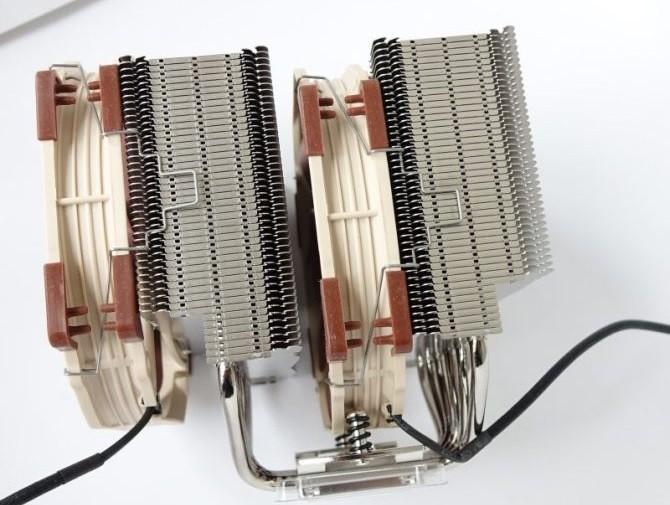 Noctua NH-D15 с вентиляторами