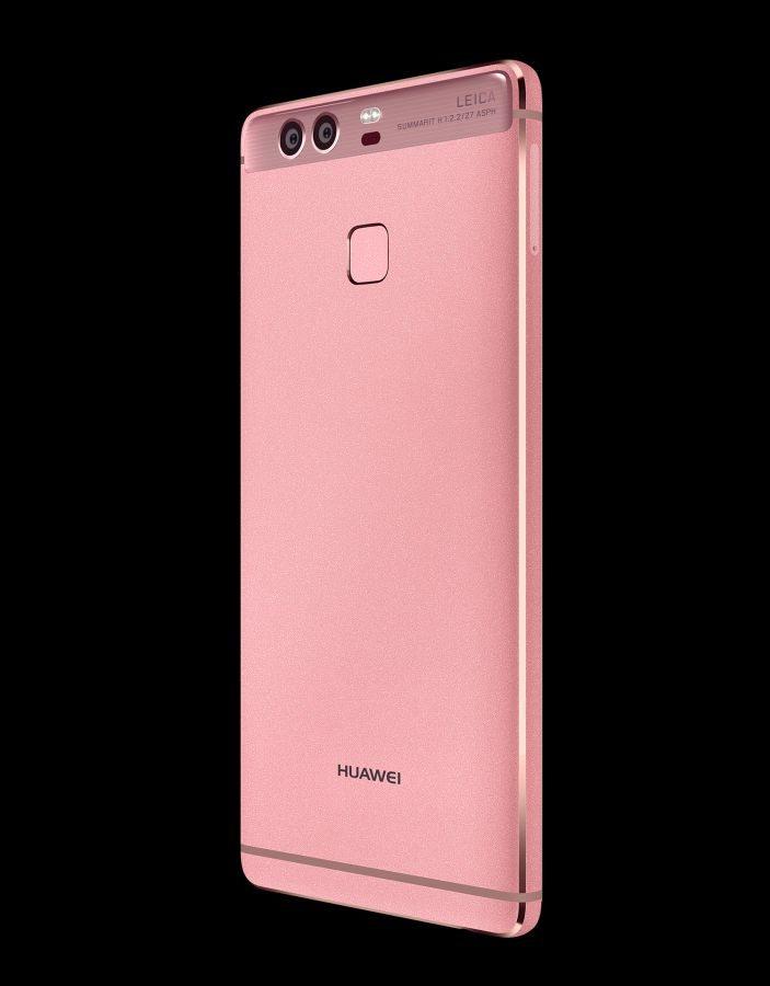 Huawei P9 и P9 Plus pink