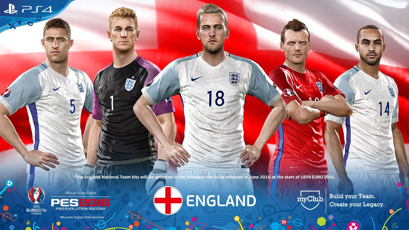 PES 2016 – UEFA Euro 2016 England