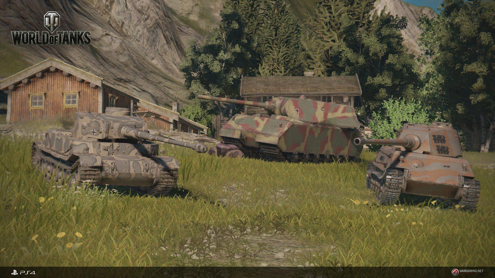 Imperial Steel для World of Tanks germain new