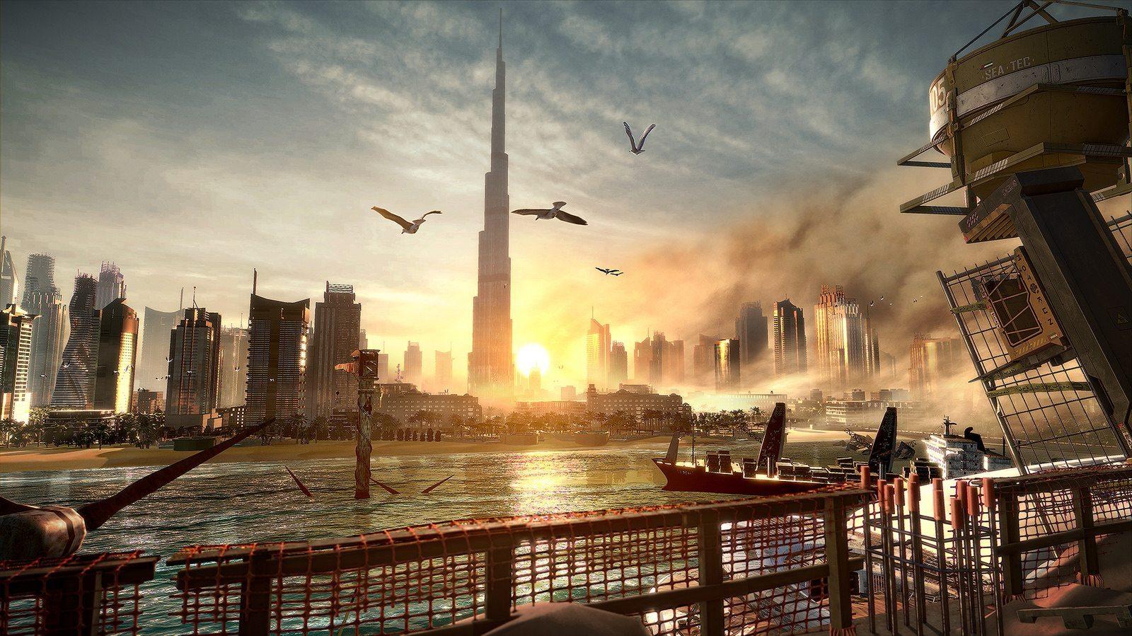 Deus Ex: Mankind Divided city