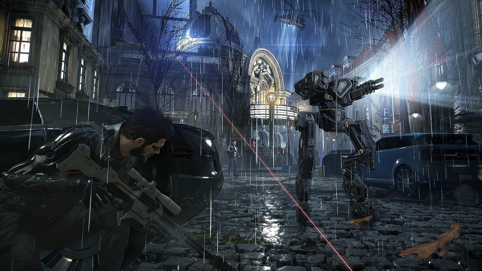 Deus Ex: Mankind Divided action