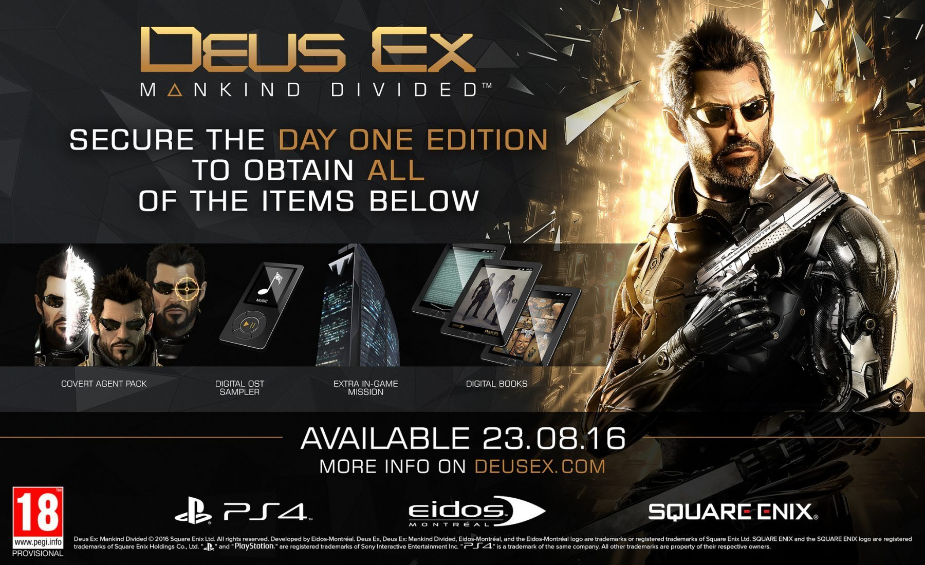 Deus Ex: Mankind Divided deluxe edition