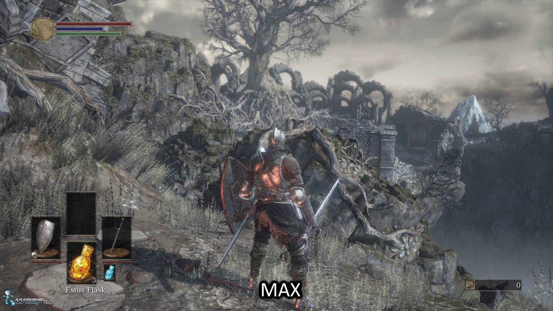 Dark Souls 3 maximum