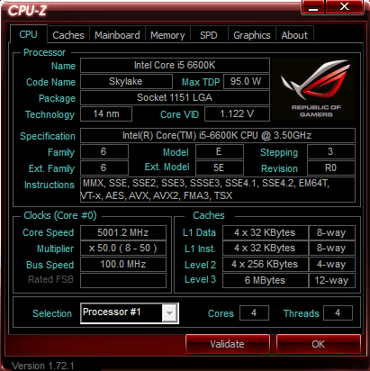 ASUS Z170I Pro Gaming 5 ГГц