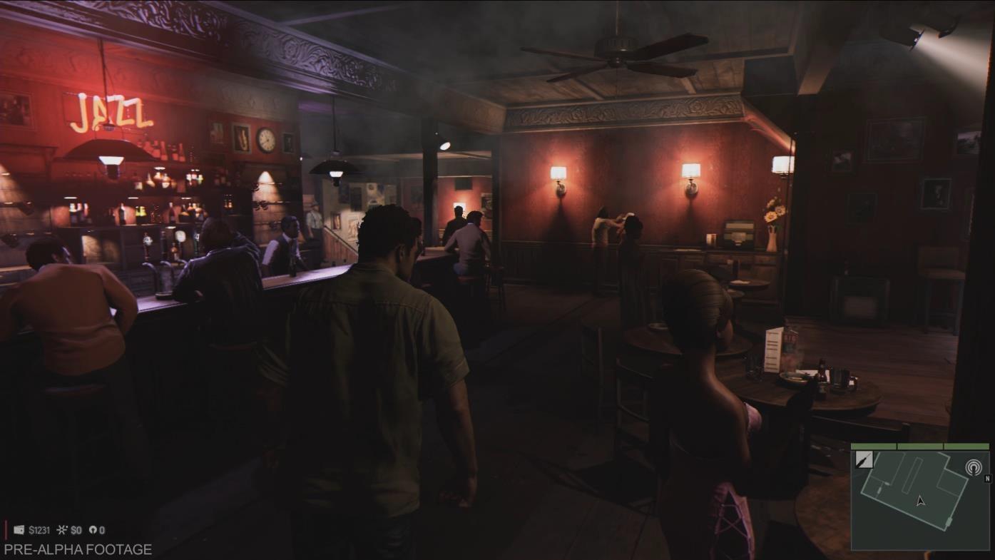 Mafia 3 bar alone