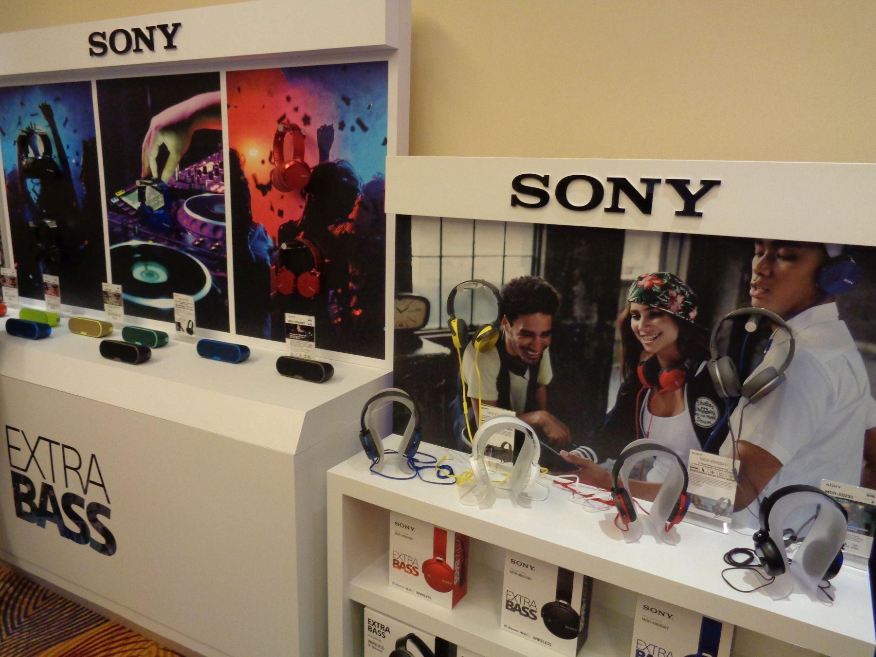 Беспроводные колонки Sony