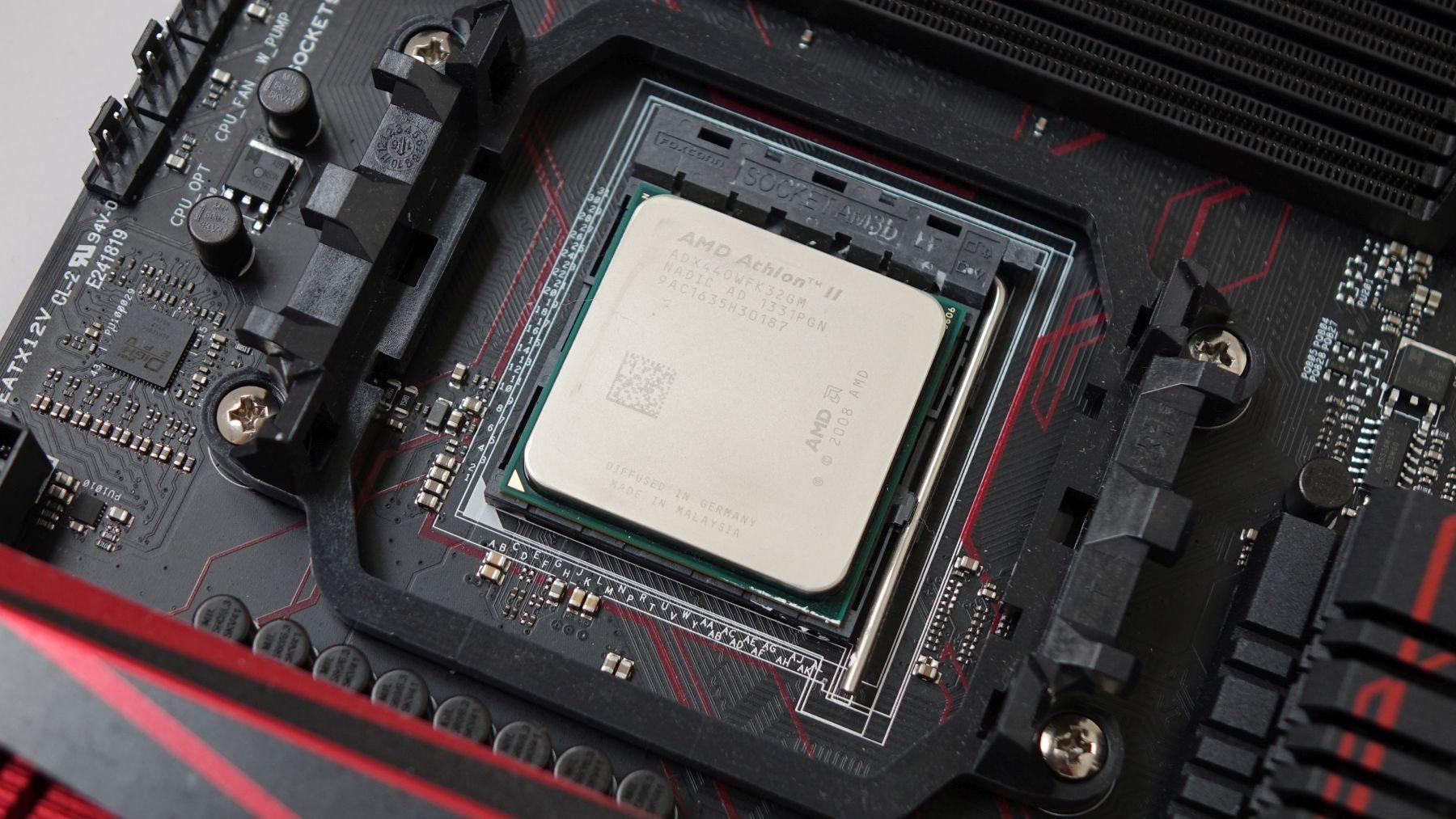 athlon x3 440