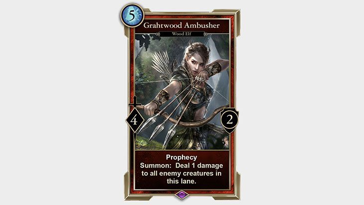 The Elder Scrolls: Legends ambusher