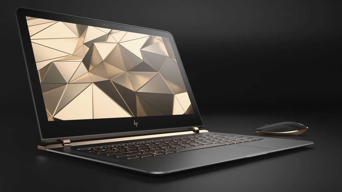 HP Spectre right facing