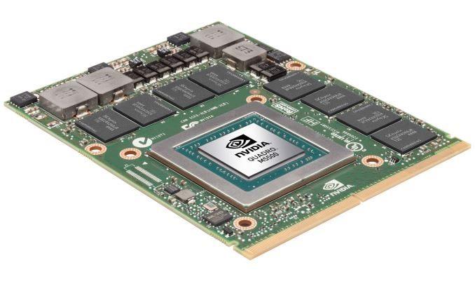 Quadro M5500 для ноутбуков