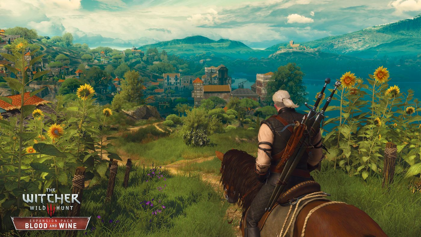 The Witcher 3 Blood and Wine Toussaint