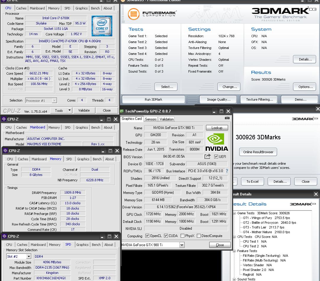 Мировой рекорд разгона в 3DMark03