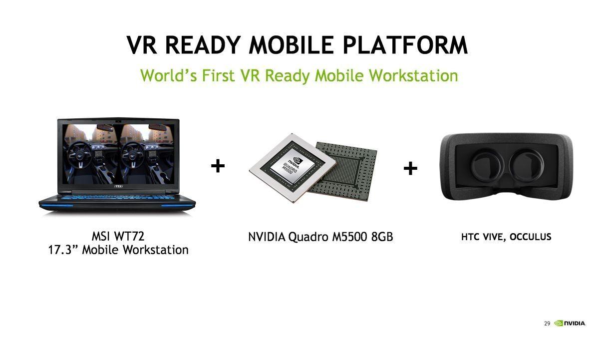 VR Quadro M5500