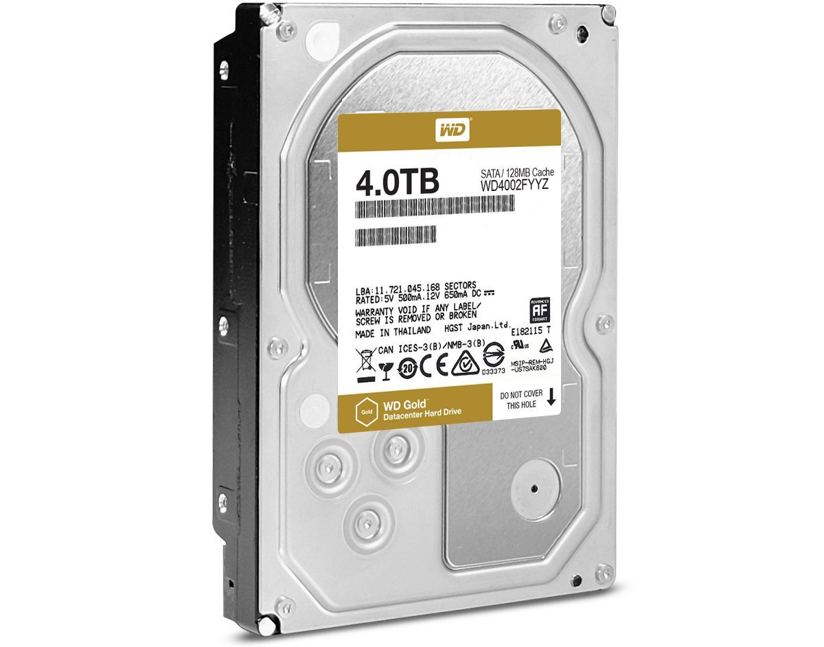 WD Gold 4 Тбайт