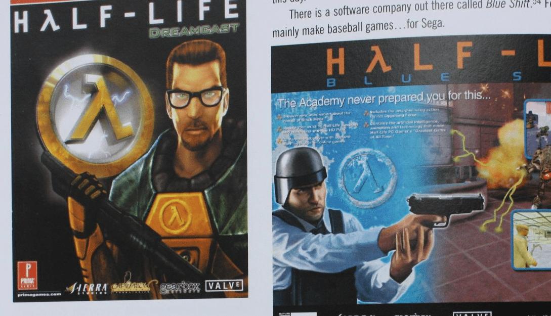half-life art