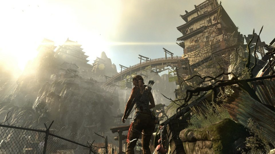 Tomb Raider bridge