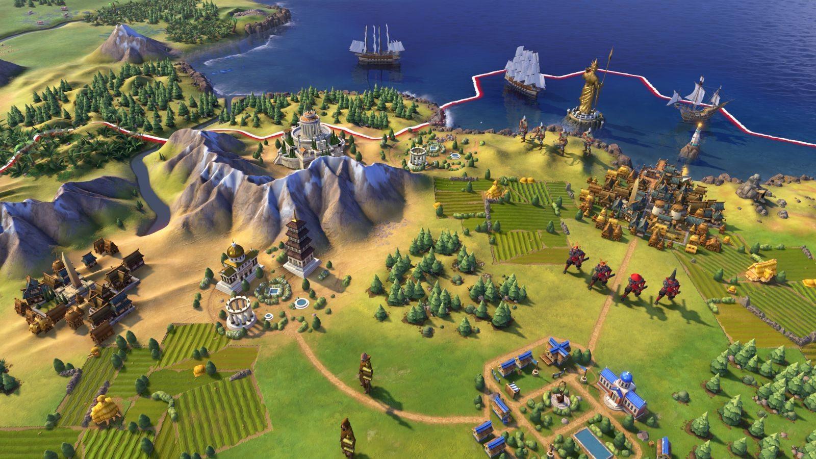 Civilization VI new