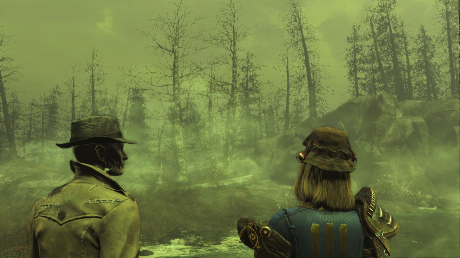 Far Harbor для Fallout 4 Nick