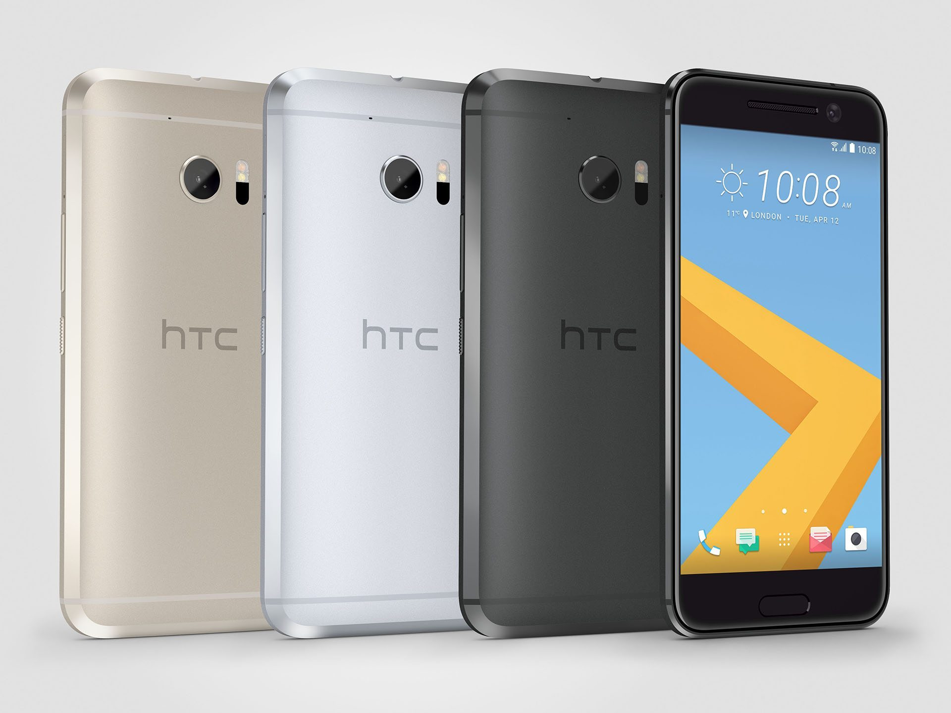 HTC 10_Gray Front