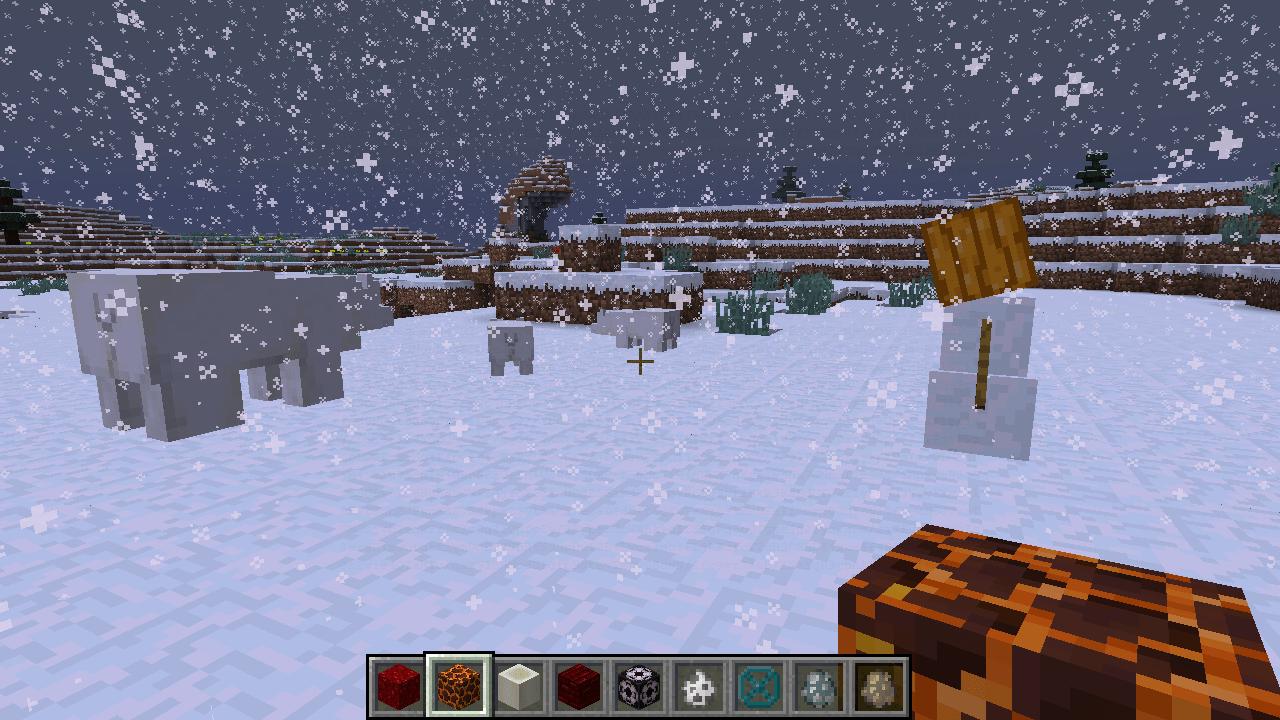 Minecraft snapshot 16w21a