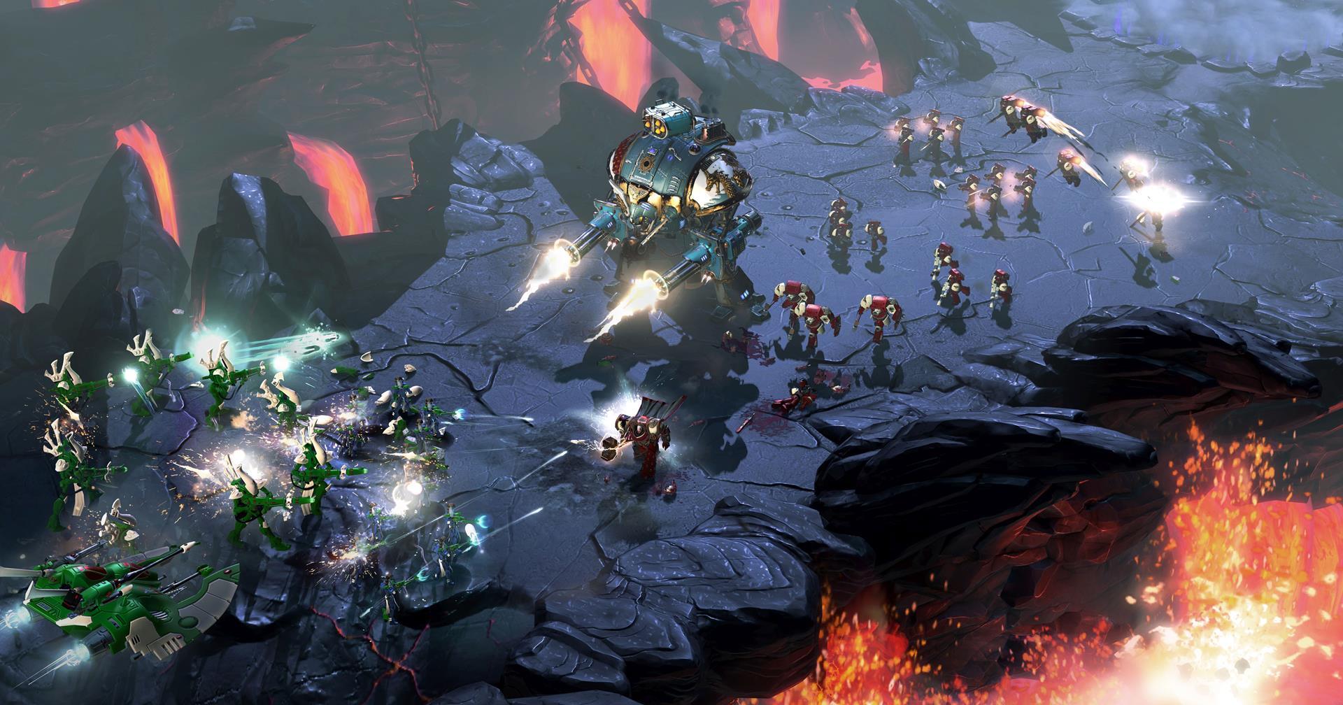 Warhammer 40,000: Dawn of War III big units