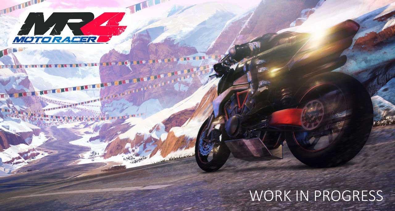 Moto Racer 4 hills