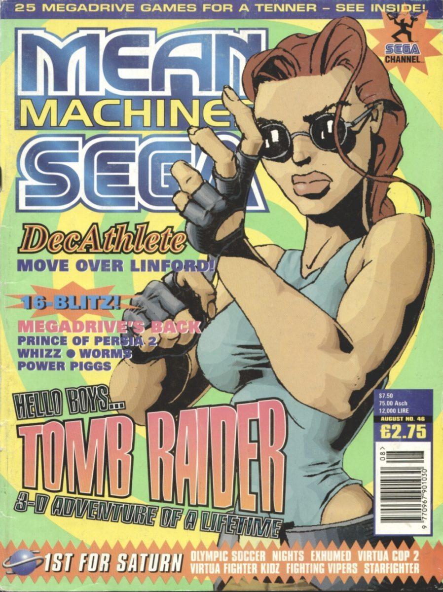 Дебютный комикс Tomb Raider