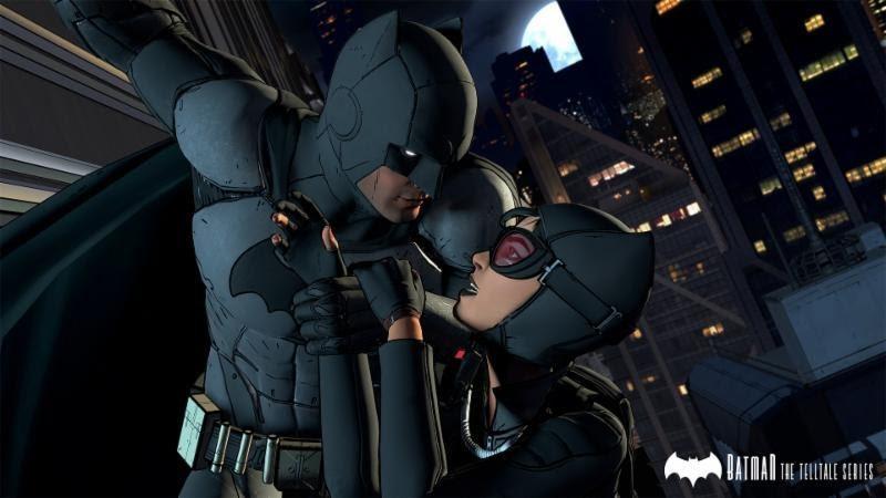 Batman от Telltale catwomen