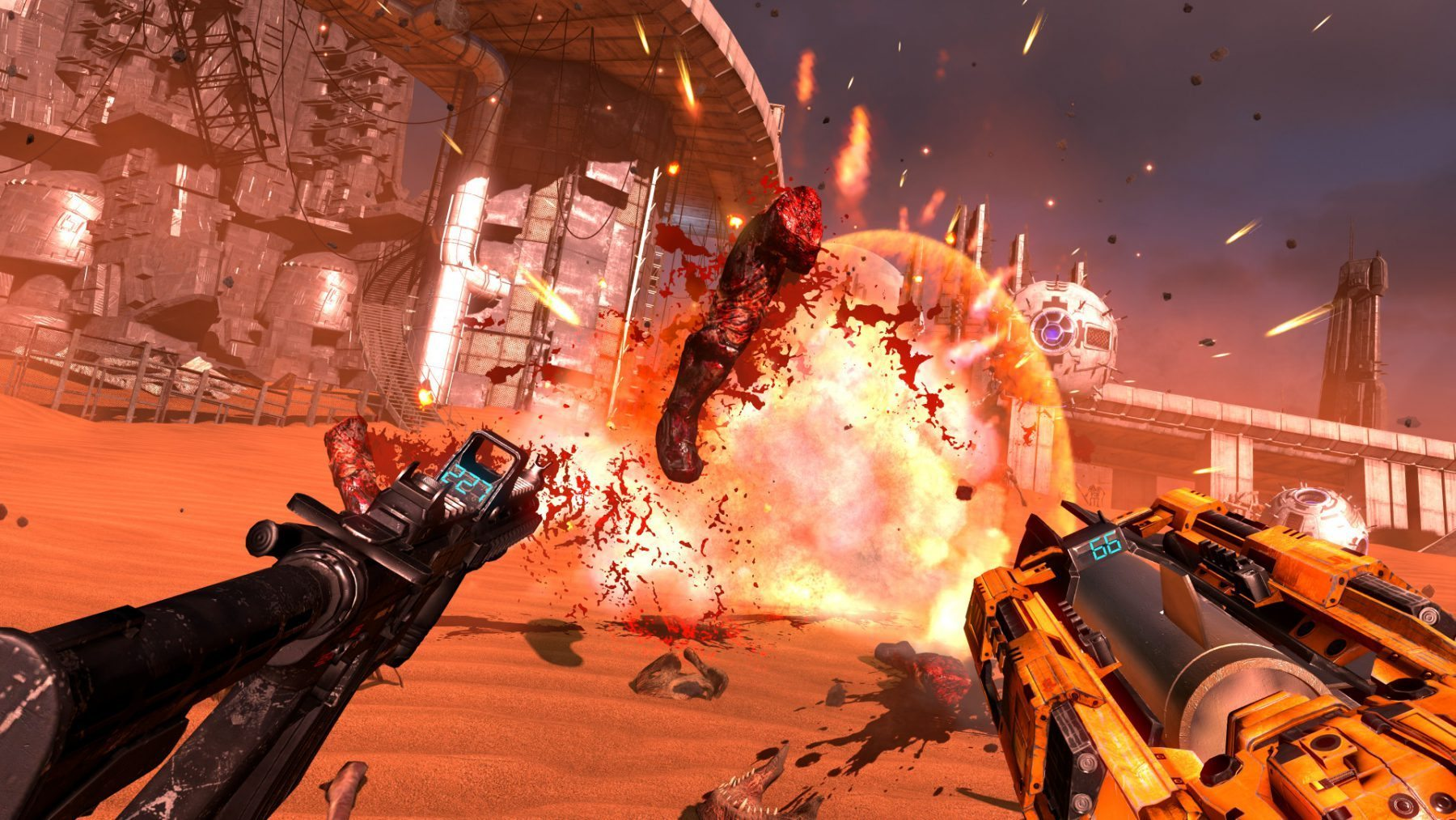 Serious Sam VR: The Last Hope hell
